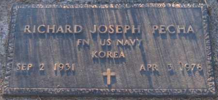 PECHA, RICHARD JOSEPH - Sarpy County, Nebraska | RICHARD JOSEPH PECHA - Nebraska Gravestone Photos
