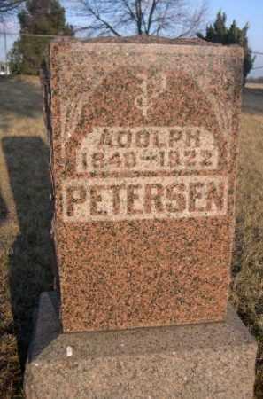 PETERSEN, ADOLPH - Sarpy County, Nebraska | ADOLPH PETERSEN - Nebraska Gravestone Photos