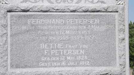 PETERSEN, BETTIE - Sarpy County, Nebraska   BETTIE PETERSEN - Nebraska Gravestone Photos