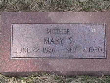 PETERSEN, MARY S. - Sarpy County, Nebraska   MARY S. PETERSEN - Nebraska Gravestone Photos
