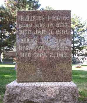 PINNOW, FRIDERICH - Sarpy County, Nebraska | FRIDERICH PINNOW - Nebraska Gravestone Photos