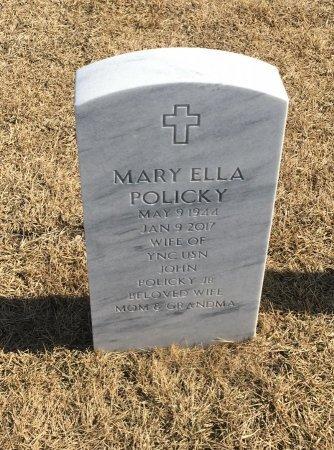 POLICKY, MARY ELLA - Sarpy County, Nebraska | MARY ELLA POLICKY - Nebraska Gravestone Photos