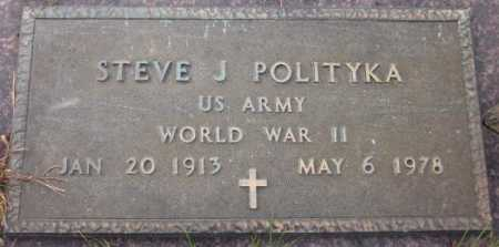 POLITYKA, STEVE J. - Sarpy County, Nebraska | STEVE J. POLITYKA - Nebraska Gravestone Photos