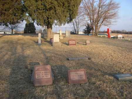 *PORTAL CEMETERY, VIEW OF - Sarpy County, Nebraska | VIEW OF *PORTAL CEMETERY - Nebraska Gravestone Photos