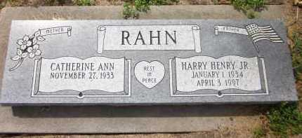 RAHN, HARRY HENRY JR. - Sarpy County, Nebraska | HARRY HENRY JR. RAHN - Nebraska Gravestone Photos