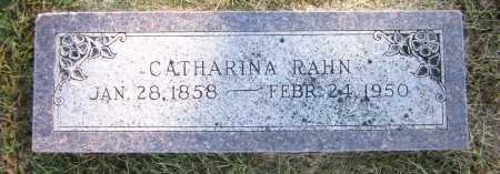 RAHN, CATHARINA - Sarpy County, Nebraska   CATHARINA RAHN - Nebraska Gravestone Photos
