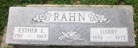 RAHN, HARRY - Sarpy County, Nebraska | HARRY RAHN - Nebraska Gravestone Photos