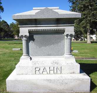 RAHN, FAMILY - Sarpy County, Nebraska   FAMILY RAHN - Nebraska Gravestone Photos