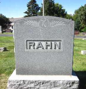RAHN, FAMILY - Sarpy County, Nebraska | FAMILY RAHN - Nebraska Gravestone Photos