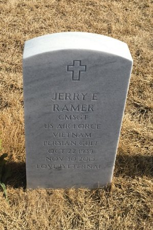 RAMER, JERRY - Sarpy County, Nebraska | JERRY RAMER - Nebraska Gravestone Photos