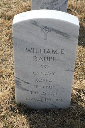 RAUPE, WILLIAM - Sarpy County, Nebraska | WILLIAM RAUPE - Nebraska Gravestone Photos