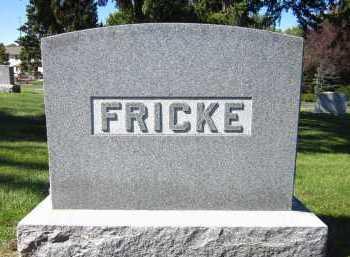 FRICKE, FAMILY - Sarpy County, Nebraska | FAMILY FRICKE - Nebraska Gravestone Photos