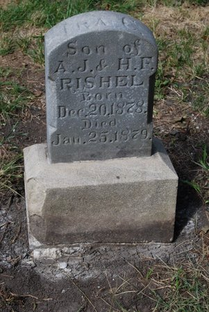 RISHEL, IRA C. - Sarpy County, Nebraska | IRA C. RISHEL - Nebraska Gravestone Photos