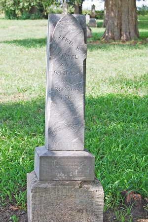 RISHEL, LEWIS WILBUR - Sarpy County, Nebraska | LEWIS WILBUR RISHEL - Nebraska Gravestone Photos