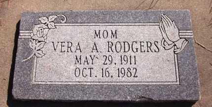 RODGERS, VERA A. - Sarpy County, Nebraska | VERA A. RODGERS - Nebraska Gravestone Photos