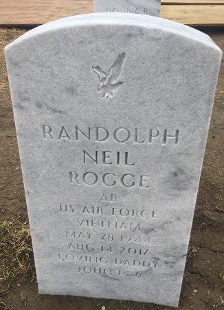 ROGGE, RANDOLPH  - Sarpy County, Nebraska | RANDOLPH  ROGGE - Nebraska Gravestone Photos