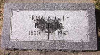 RONBERG, ERMA - Sarpy County, Nebraska | ERMA RONBERG - Nebraska Gravestone Photos