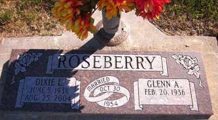 ROSEBERRY, DIXIE L. - Sarpy County, Nebraska   DIXIE L. ROSEBERRY - Nebraska Gravestone Photos
