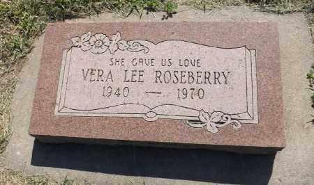 ROSEBERRY, VERA LEE - Sarpy County, Nebraska   VERA LEE ROSEBERRY - Nebraska Gravestone Photos