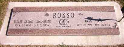 ROSSO, JOHN CLAIR - Sarpy County, Nebraska | JOHN CLAIR ROSSO - Nebraska Gravestone Photos