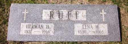 RUFF, LENA M. - Sarpy County, Nebraska | LENA M. RUFF - Nebraska Gravestone Photos