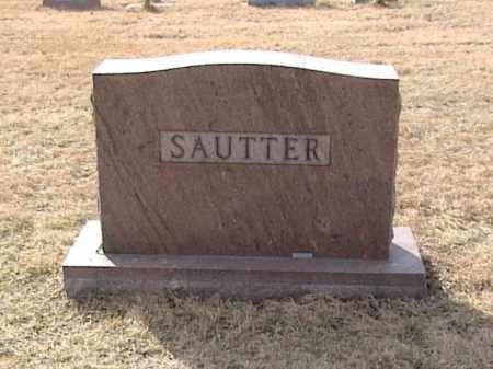 SAUTTER, FAMILY HEADSTONE - Sarpy County, Nebraska | FAMILY HEADSTONE SAUTTER - Nebraska Gravestone Photos