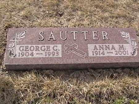 SAUTTER, ANNA M. - Sarpy County, Nebraska | ANNA M. SAUTTER - Nebraska Gravestone Photos