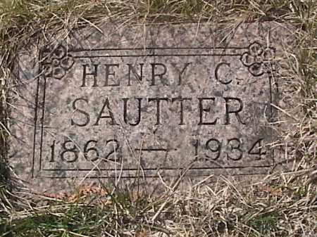 SAUTTER, HENRY C. - Sarpy County, Nebraska   HENRY C. SAUTTER - Nebraska Gravestone Photos