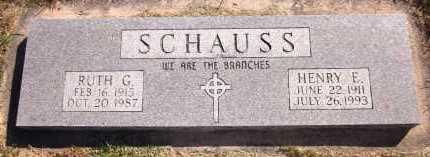SCHAUSS, RUTH G. - Sarpy County, Nebraska | RUTH G. SCHAUSS - Nebraska Gravestone Photos