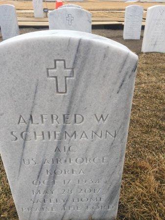 SCHIEMANN, ALFRED  - Sarpy County, Nebraska | ALFRED  SCHIEMANN - Nebraska Gravestone Photos