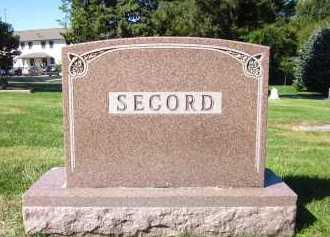 SECORD, FAMILY - Sarpy County, Nebraska | FAMILY SECORD - Nebraska Gravestone Photos