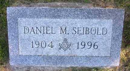 SEIBOLD, DANIEL M. - Sarpy County, Nebraska | DANIEL M. SEIBOLD - Nebraska Gravestone Photos
