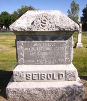 SEIBOLD, KATHARINE - Sarpy County, Nebraska | KATHARINE SEIBOLD - Nebraska Gravestone Photos