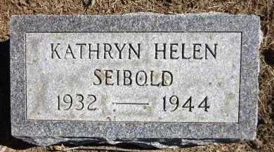 SEIBOLD, KATHRYN HELEN - Sarpy County, Nebraska | KATHRYN HELEN SEIBOLD - Nebraska Gravestone Photos