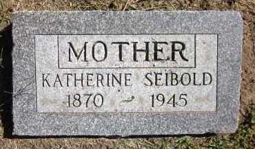 SEIBOLD, KATHERINE - Sarpy County, Nebraska | KATHERINE SEIBOLD - Nebraska Gravestone Photos