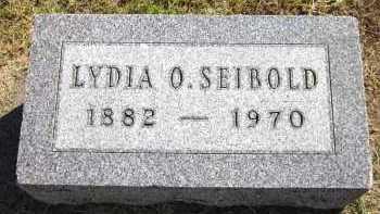 SEIBOLD, LYDIA O. - Sarpy County, Nebraska | LYDIA O. SEIBOLD - Nebraska Gravestone Photos