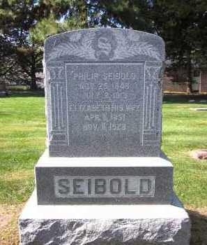 SEIBOLD, ELIZABETH - Sarpy County, Nebraska | ELIZABETH SEIBOLD - Nebraska Gravestone Photos