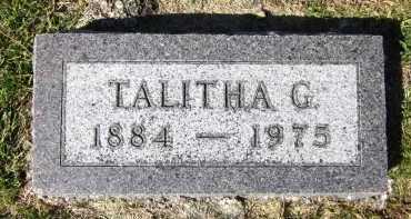 SEIBOLD, TALITHA G. - Sarpy County, Nebraska | TALITHA G. SEIBOLD - Nebraska Gravestone Photos