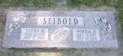 SEIBOLD, MORRIS R. - Sarpy County, Nebraska | MORRIS R. SEIBOLD - Nebraska Gravestone Photos