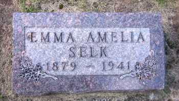 SELK, EMMA AMELIA - Sarpy County, Nebraska | EMMA AMELIA SELK - Nebraska Gravestone Photos