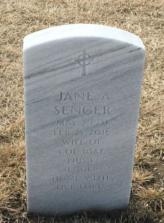 SENGER, JANE - Sarpy County, Nebraska | JANE SENGER - Nebraska Gravestone Photos
