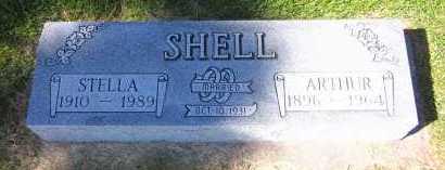 SHELL, STELLA - Sarpy County, Nebraska | STELLA SHELL - Nebraska Gravestone Photos