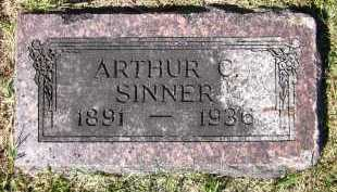 SINNER, ARTHUR C. - Sarpy County, Nebraska   ARTHUR C. SINNER - Nebraska Gravestone Photos
