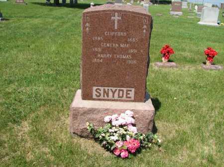 SNYDE (1), CHILDREN - Sarpy County, Nebraska | CHILDREN SNYDE (1) - Nebraska Gravestone Photos