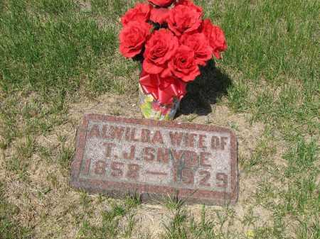 SNYDE, ALWILDA - Sarpy County, Nebraska | ALWILDA SNYDE - Nebraska Gravestone Photos