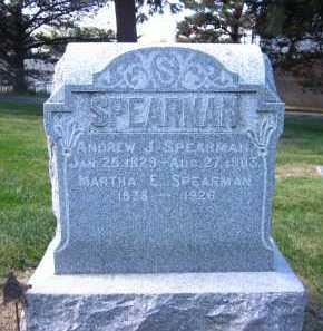 SPEARMAN, MARTHA E. - Sarpy County, Nebraska | MARTHA E. SPEARMAN - Nebraska Gravestone Photos
