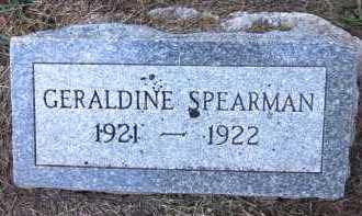 SPEARMAN, GERALDINE - Sarpy County, Nebraska   GERALDINE SPEARMAN - Nebraska Gravestone Photos