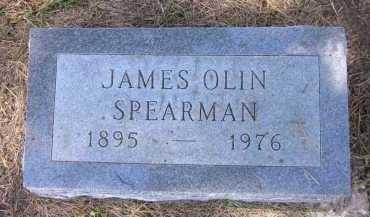 SPEARMAN, JAMES OLIN - Sarpy County, Nebraska | JAMES OLIN SPEARMAN - Nebraska Gravestone Photos