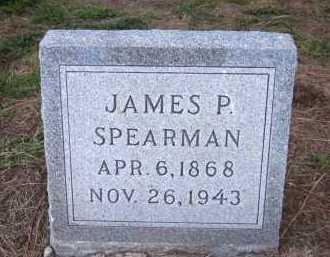 SPEARMAN, JAMES P. - Sarpy County, Nebraska   JAMES P. SPEARMAN - Nebraska Gravestone Photos