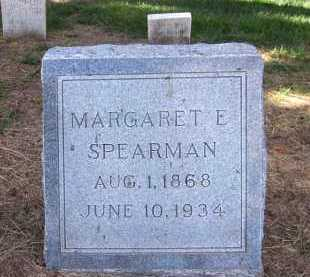 SPEARMAN, MARGARET E. - Sarpy County, Nebraska | MARGARET E. SPEARMAN - Nebraska Gravestone Photos